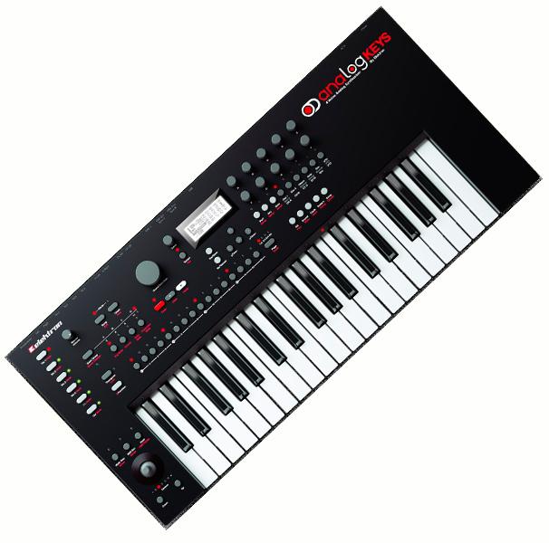 ElektronAnalog Keys【エレクトロン】【アナログキーズ】【37鍵】【ポリフォニック・アナログ・シンセサイザー】【送料無料】