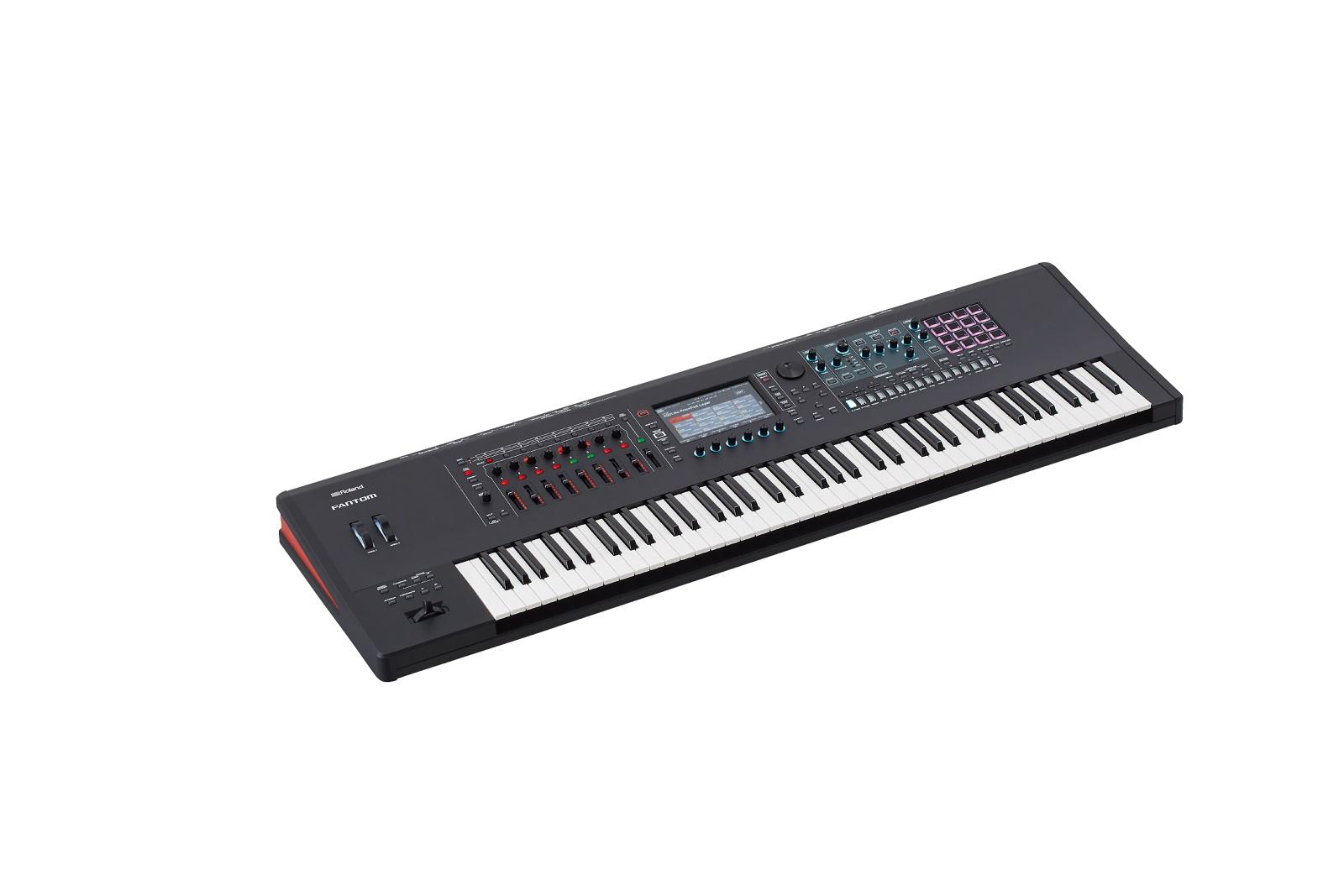 【数量限定即納可能】Roland ローランド FANTOM-7【MUSIC WORKSTATION】 【シンセサイザー】【76鍵盤】【送料無料】