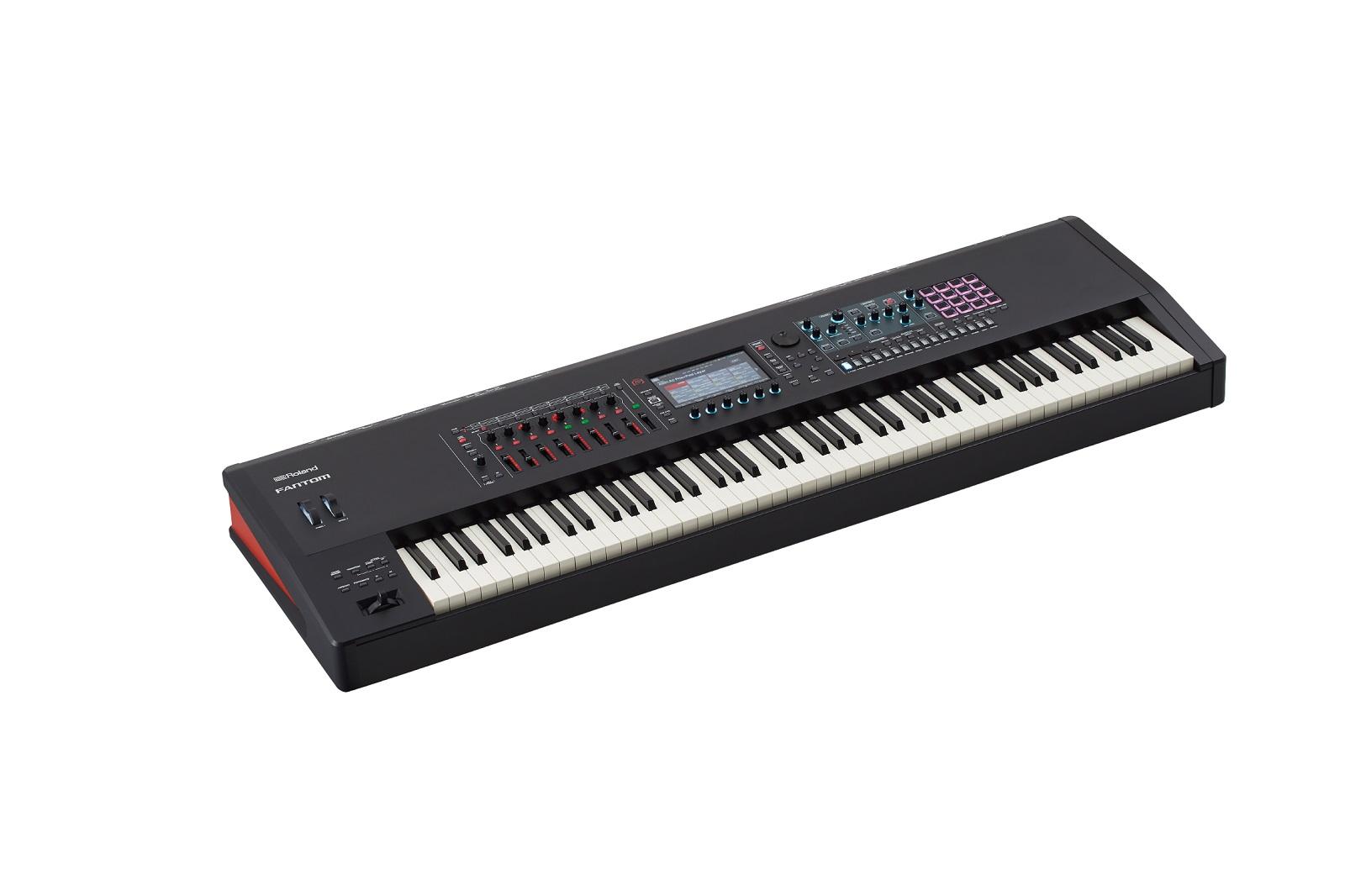 【数量限定即納可能】Roland ローランド FANTOM-8【MUSIC WORKSTATION】 【シンセサイザー】【88鍵盤】【送料無料】