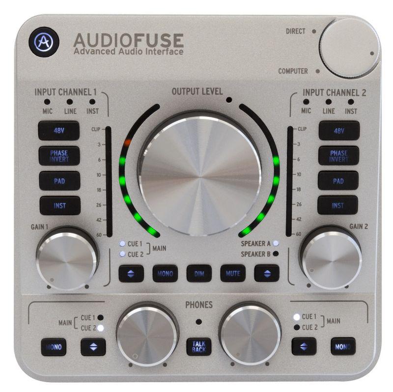 【アウトレット】Arturia アートリア Audio Fuse SV【クラシックシルバー】【メーカー再生品】【2級品】【オーディオインターフェイス】【送料無料】