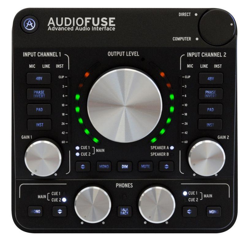 Arturia オートリア Audio Fuse BK【ディープブラック】【オーディオインターフェイス】【送料無料】