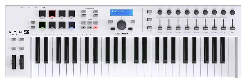 ARTURIA KEYLAB ESSENTIAL49 【オートリア】【キーラボ】【MIDIコントローラー】【ソフトシンセ】【送料無料】