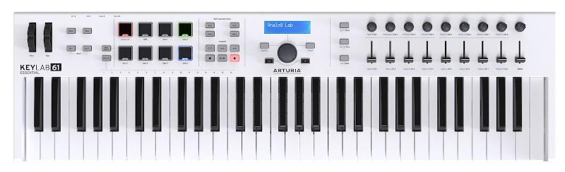 ARTURIA KEYLAB ESSENTIAL61 【オートリア】【キーラボ】【MIDIコントローラー】【ソフトシンセ】【送料無料】