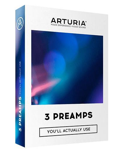 ARTURIA 【アートリア】3Preamps【プラグインソフトウェア/3プリアンプス】【送料無料】