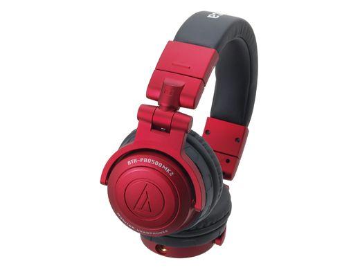 audio-technica オーディオ・テクニカ ATH-PRO 500MK2 RD 【密閉ダイナミック型】【モニターヘッドホン】【大口径ドライバーによる重厚なサウンド!】【送料無料】