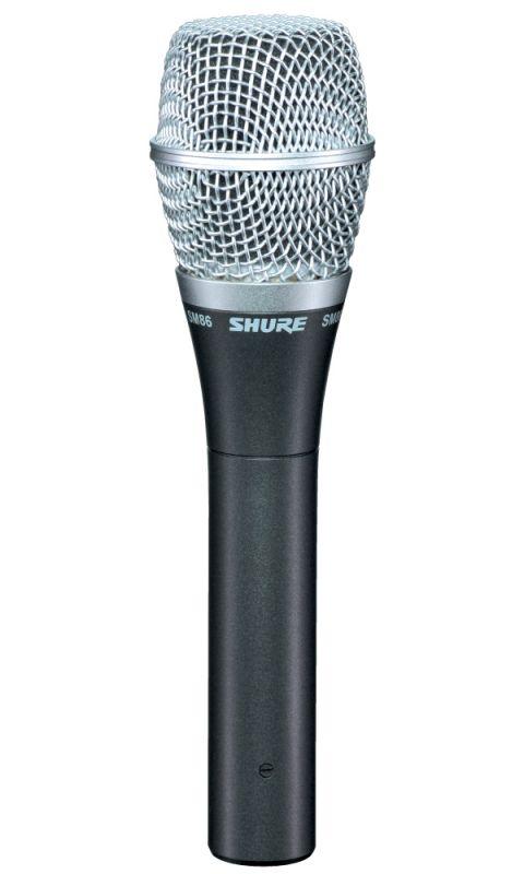 SHURE (シュアー)SM86【SM86-X】【ボーカル用カーディオイド・コンデンサーマイクロホン】 【送料無料】