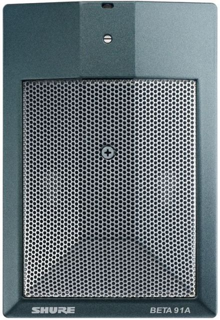 SHURE (シュアー)BETA 91A【BETA91A-X】【楽器用ハーフカーディオイド・コンデンサーバウンダリーマイクロホン】 【送料無料】