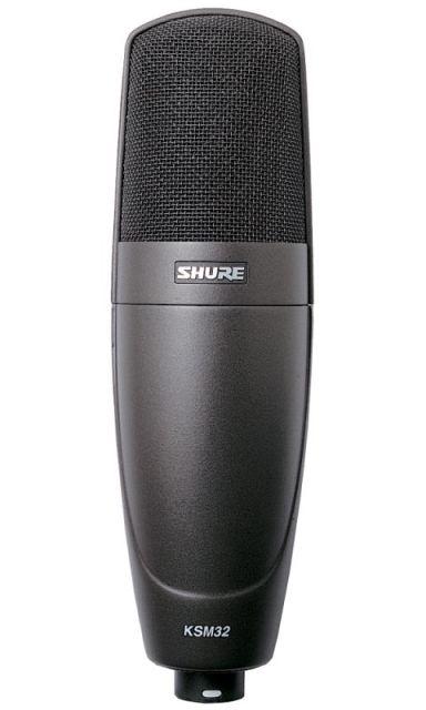 SHURE (シュアー)KSM32/CG (チャコールグレー)【ボーカル・楽器用コンデンサー型マイクロホン 】 【送料無料】