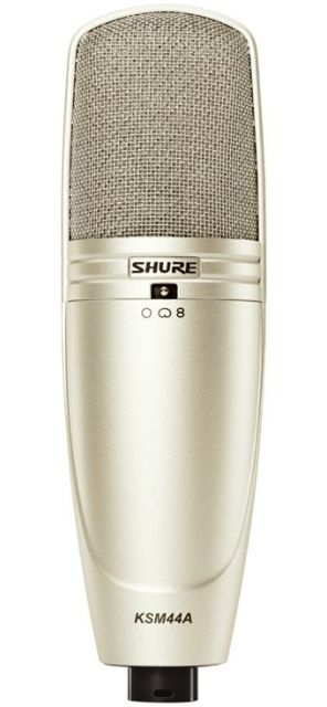 SHURE (シュアー)KSM44A/SL【KSM44ASL-X】【ボーカル用コンデンサー型マイクロホン】 【送料無料】