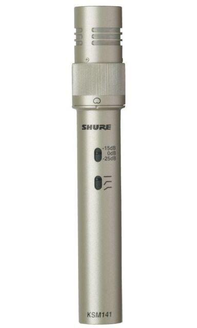 SHURE (シュアー)KSM141/SL【KSM141SL-X】【楽器用コンデンサー型マイクロホン】【送料無料】
