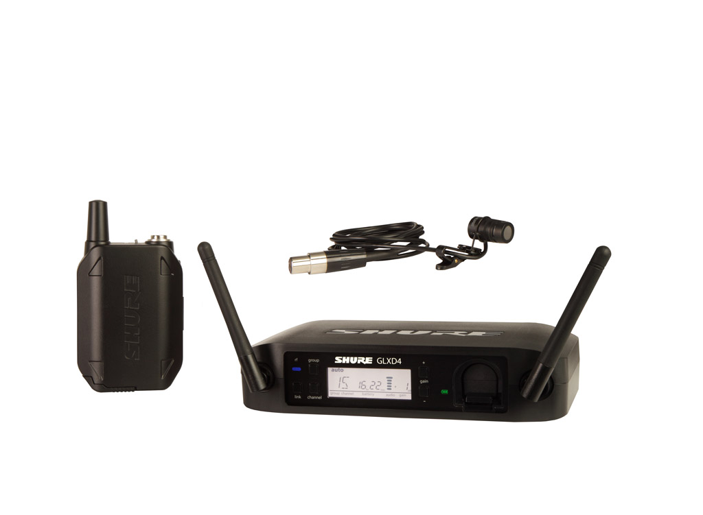 SHURE (シュアー)GLXD14/WL185【GLX-Dボディーパック・ワイヤレスシステム(WL185ラベリアマイク)】 【送料無料】