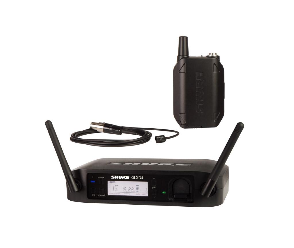 SHURE (シュアー)GLXD14/WL93【GLX-Dボディーパック・ワイヤレスシステム(WL93ラベリアマイク)】 【送料無料】
