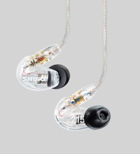 SHURESE215-CL-J(クリアカラー)【国内正規1年保証+6ヶ月延長保証キャンペーン中】 【送料無料】