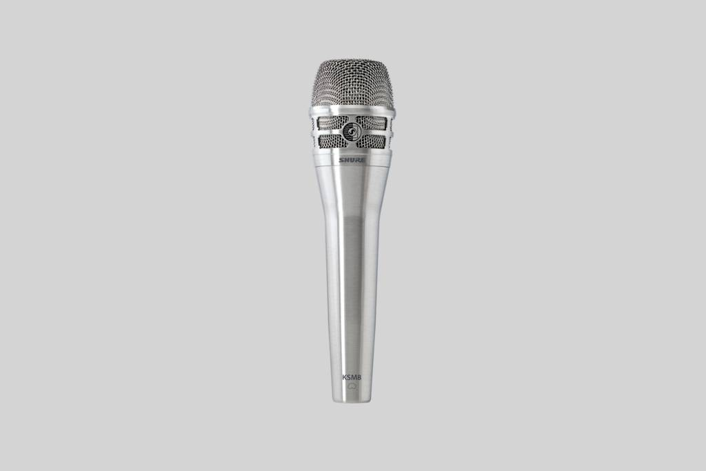 SHURE (シュアー)KSM8/N【カーディオイド・ダイナミック・ボーカルマイクロホン】 【送料無料】