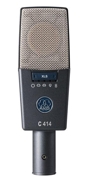 AKGC414 XLS【国内正規品/3年保証】【サイドアドレス型マイクロホン】【送料無料】
