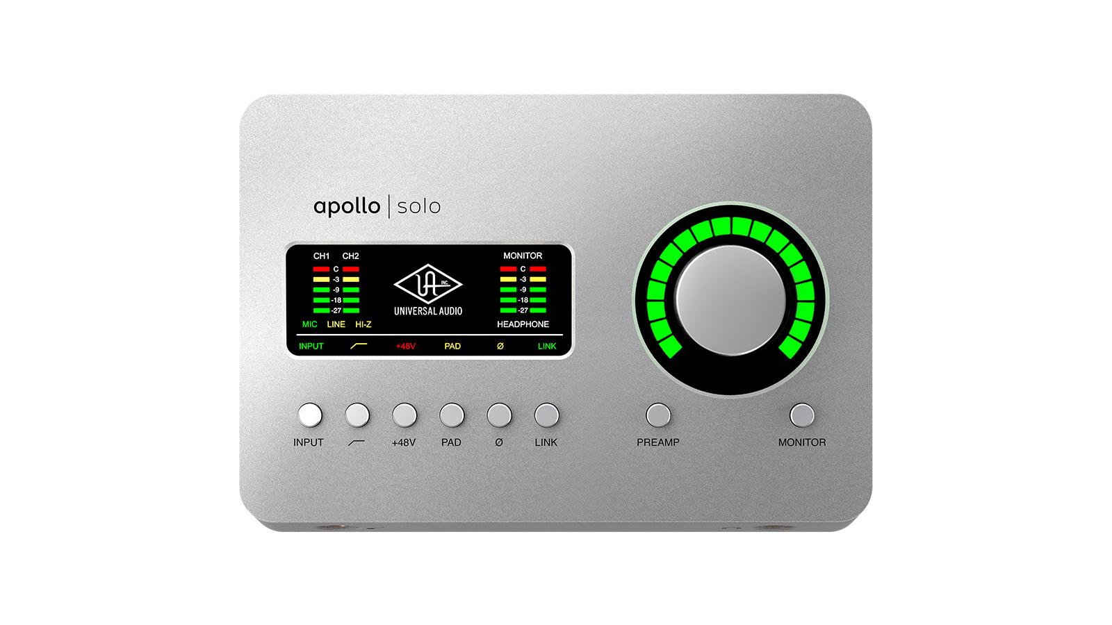 <title>Universal AudioApollo Solo 大好評です USB Windows専用 送料無料</title>