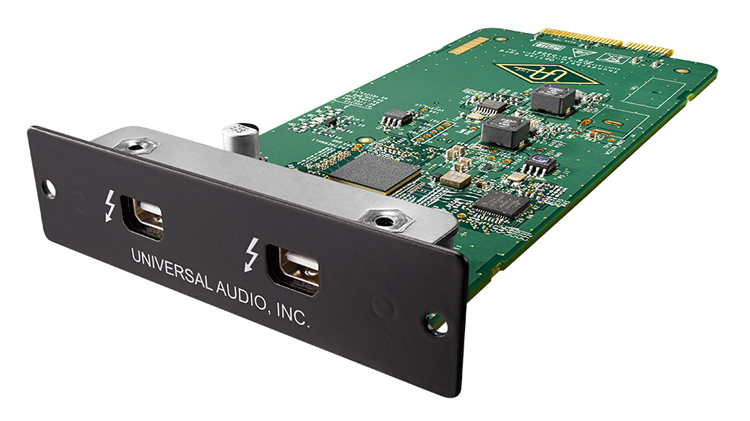 UNIVERSAL AUDIOThunderbolt 2 Option Card【送料無料】