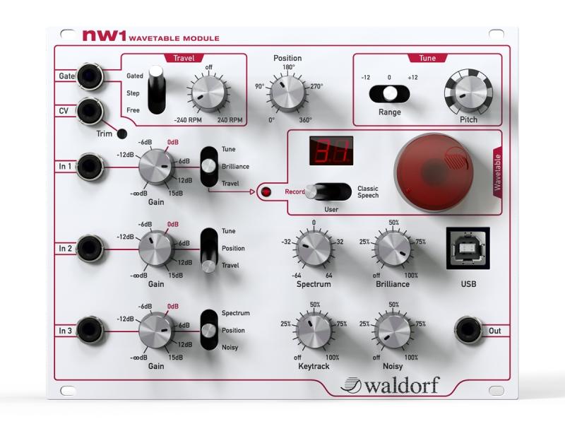 Waldorfnw1【NW1】【WAVETABLE MODULE/ウェーブテーブルモジュール】【送料無料】