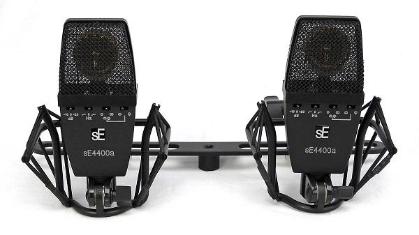 sE Electronics sE4400a ファクトリー・マッチド・ステレオ・ペア 【sE4400a Matched Pair】【専用ショックマウント、ステレオマウントバー、専用フライトケース付属 】【送料無料】