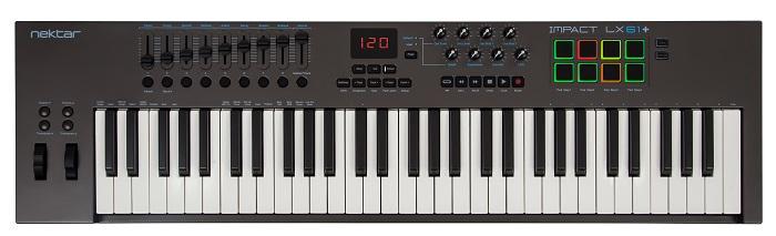 Nektar TechnologyImpact LX61+【ネクター/コントローラー/61鍵盤】【送料無料】