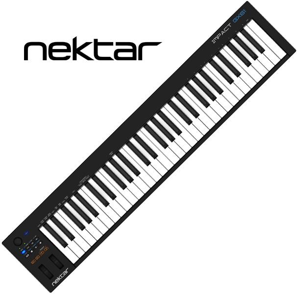 Nektar TechnologyImpact GX61【ネクター テクノロジー/インパクト GX61/コントローラー/61鍵盤】【送料無料】