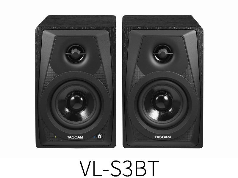 TASCAMVL-S3BT【1ペア】【Bluetooth対応 ワイヤレスパワードモニタースピーカー】【送料無料】
