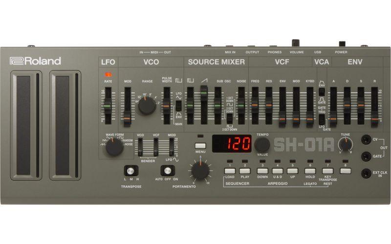 【12月上旬再販決定!】Roland ローランド SH-01A【Synthesizer】ご予約受付中【Boutiqueシリーズ】【シンセサイザー】【送料無料】