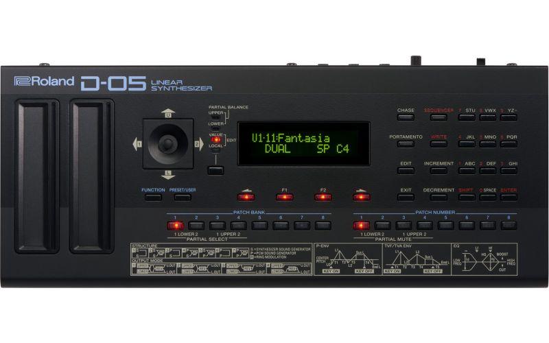 Roland ローランド D-05【Linear Synthesizer】【Boutiqueシリーズ】【LA音源シンセサイザー】【送料無料】