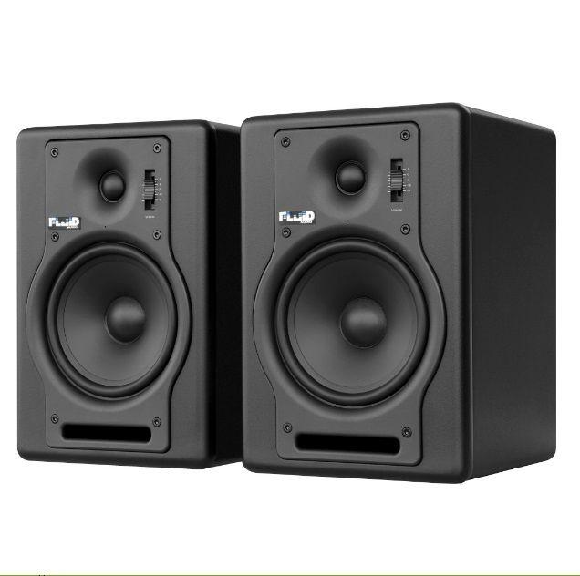 Fluid Audio フルイドオーディオ F5 ブラック【ペア】【5インチ】【アクティブモニタースピーカー】【送料無料】