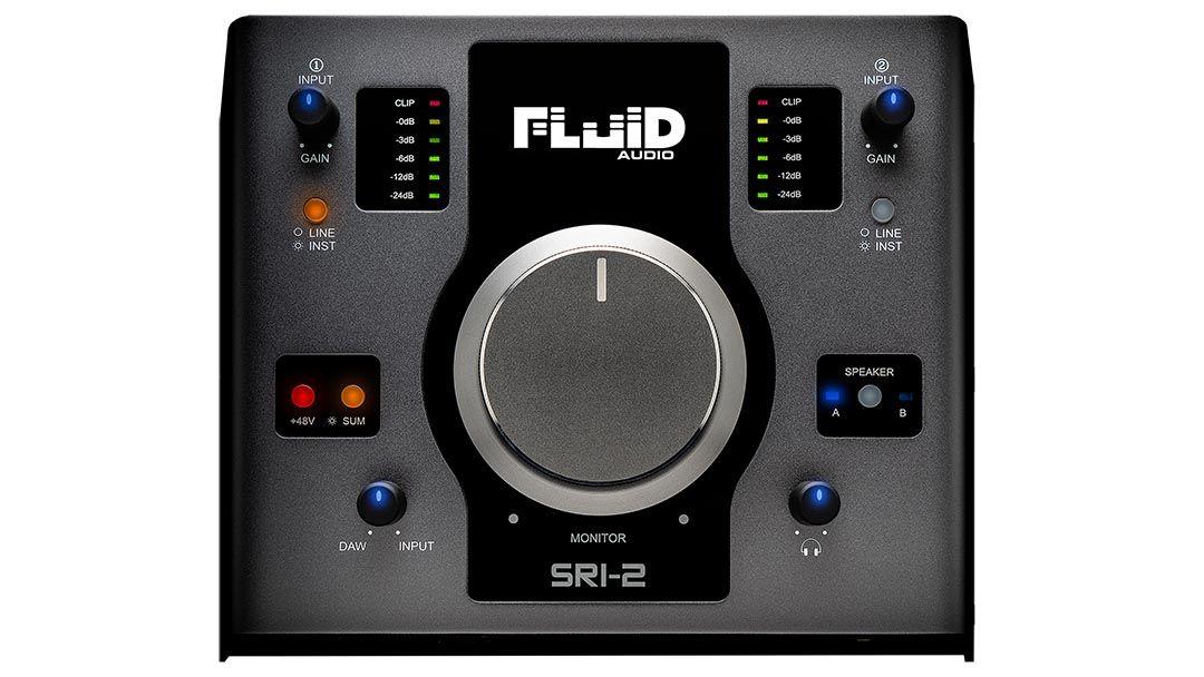 FLUID AUDIO SRI-2【USBオーディオ・インターフェイス】【送料無料】