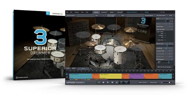 TOONTRACK SUPERIOR DRUMMER3/BOX [ドラム音源]【ドラム音源ソフト】【送料無料】