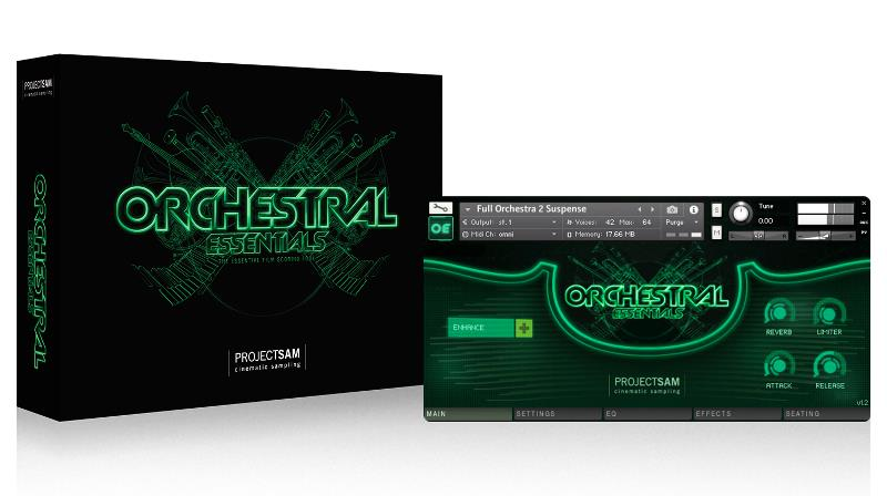 PROJECT SAM Orchestral Essentials 1/BOX [オーケストラ音源]【送料無料】