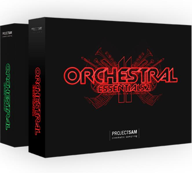 PROJECT SAM ORCHESTRAL ESSENTIALS PACK [オーケストラ音源] 【Orchestral Essentials 1+Orchestral Essentials 2 Set】【送料無料】