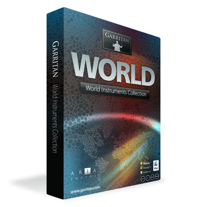 GARRITANGarritan World Instruments /BOX【民族楽器専門音源】【送料無料】