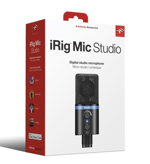 IK MultimediaiRig Mic Studio 【Black】【送料無料】