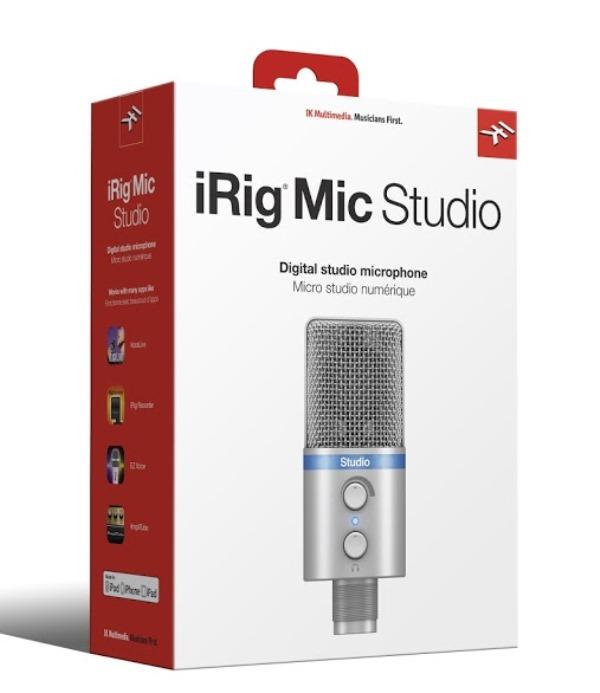 IK MultimediaiRig Mic Studio 【Silver】【送料無料】