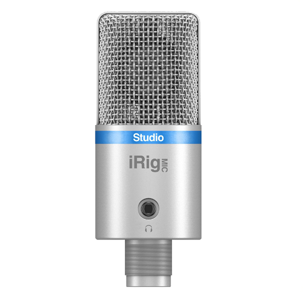 IK Multimedia iRig Mic Studio 【Silver】【アイリグ マイクスタジオ シルバーカラー】【送料無料】