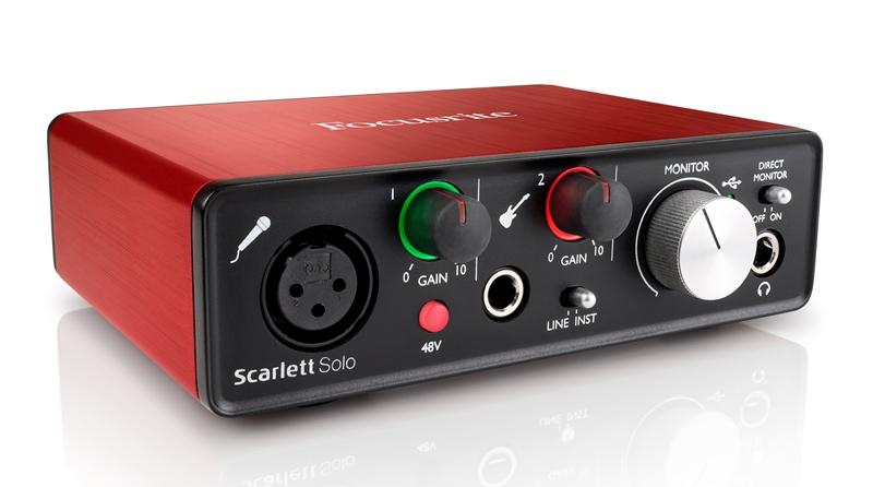 FocusriteScarlett Solo G2【送料無料】