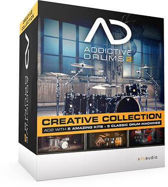 XLN AudioAddictive Drums 2 Creative Collection【送料無料】