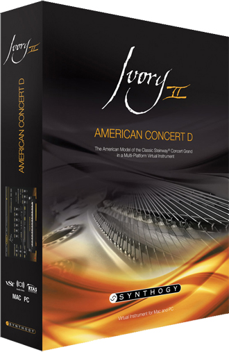 SynthogyIvory II American Concert D【送料無料】