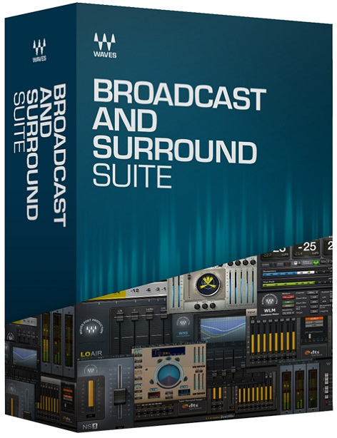 WavesBroadcast and Surround Suite【Waves 2019 July Specials !! 限定スペシャルプライス!】【2019年7月8日~ 2019年7月31日まで】【送料無料】