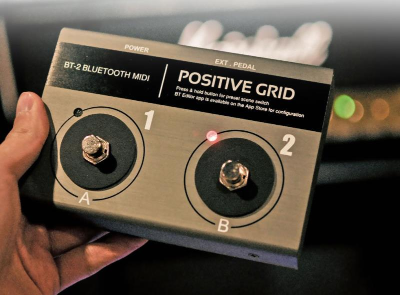 Positive GridBT-2【Bluetooth MIDI Pedal】【送料無料】