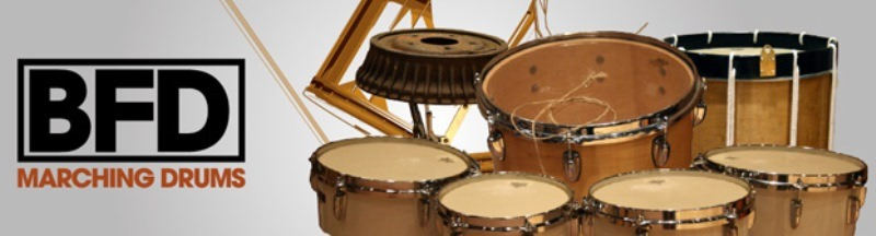 Fxpansion (BFD)BFD Marching Drums 【BFD Expansion Packs】【BFD拡張音源】【送料無料】