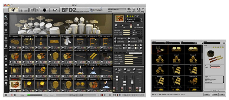 Fxpansion (BFD)Kabuki & Noh Percussion【BFD Expansion Packs】【BFD拡張音源】【送料無料】