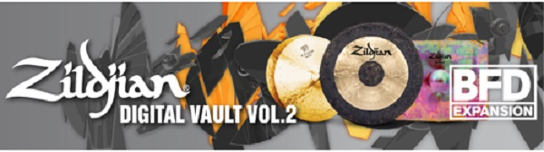 Fxpansion (BFD)Zildjian Digital Vault Vol.2【BFD Expansion Pack】【BFD拡張音源】【送料無料】