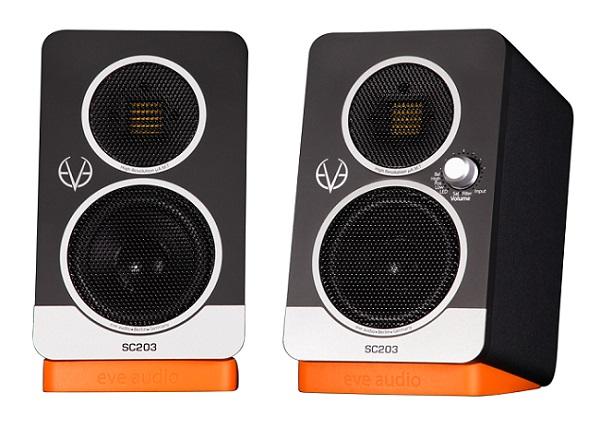 【台数限定特価】EVE Audio SC203 【モニタースピーカー】【2-Way 3インチ】【ペア/2台1組】【送料無料】