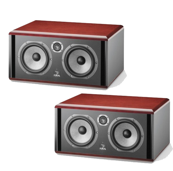 Focal Twin 6 Be Red ペア【SM6 series】【Twin 6 Be Red x2台】【モニタースピーカー】【アクティブ 2ウエイ・ニアフィールド・モニター・スピーカー】【送料無料】