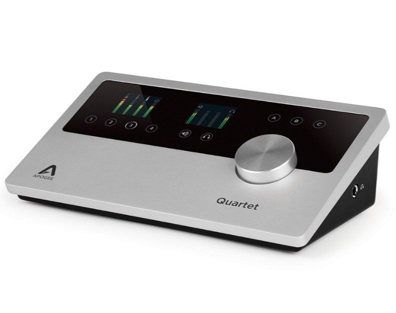 Apogee アポジー Quartet for iOS & Mac Lightning Only 【オーディオインターフェイス】【Mac、iPhone、iPod Touch、iPad専用】【送料無料】