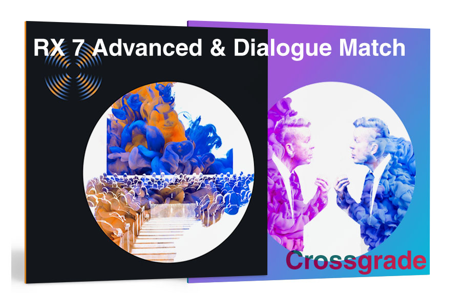 iZotopeRX 7 Advanced & Dialogue Match Bundle CRG from RX 1-6 Advanced【7/1 - 7/31】【クロスグレード版】【メール納品】【送料無料】