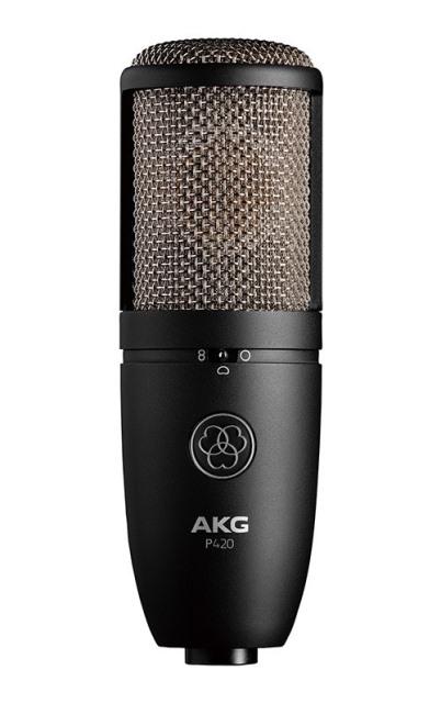 AKGP420【Project Studio Line】【サイドアドレス型マイクロホン】【送料無料】